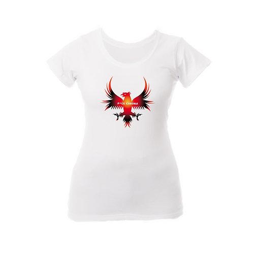 Naisten valkoinen T-paitaFC