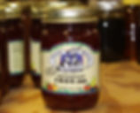 Jar of Amish FROG jam, showing the importance of preserving your own food.