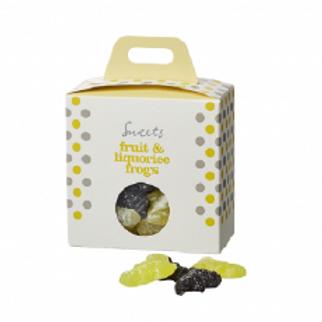 Frugt og lakrids vingummier