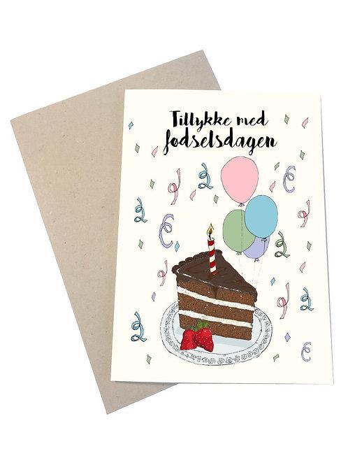 Kort tillykke med fødselsdagen