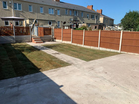 Fencing, Turfing and Decking