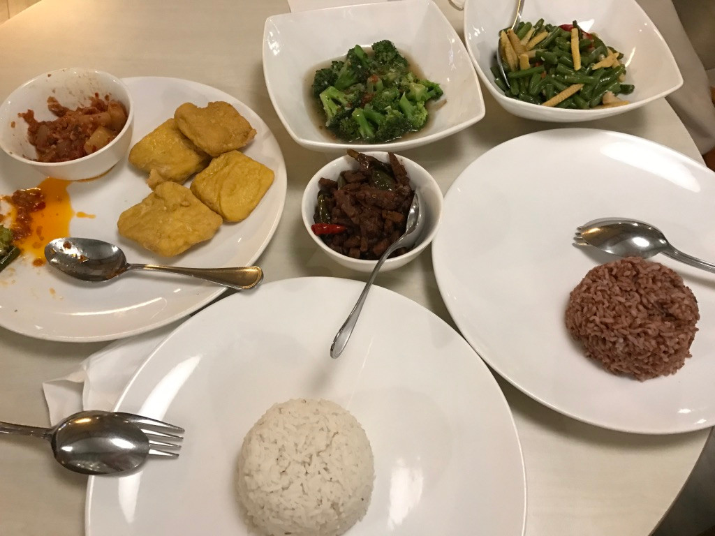Rice and Indonesian Dishes