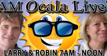 Radio: WOCA- AM OCALA LIVE: A Talk With Sandra Mendelson