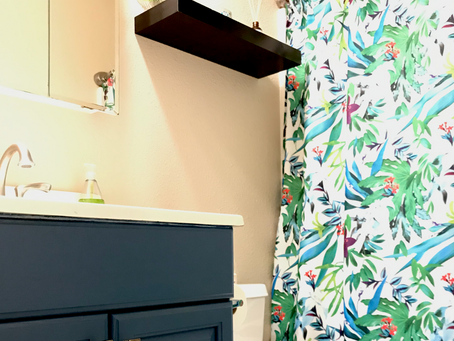 Bathroom Update for Less than $100