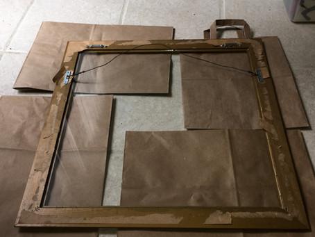 Repurpose an Old Frame into a Fun Dry Erase Board