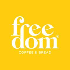 Desarrollo Logotipo Freedom Coffe&Bread