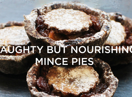 Naughty But Nourishing Mince Pies