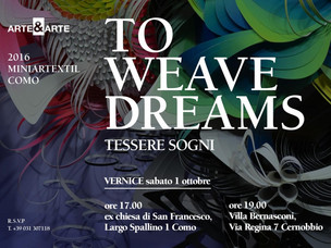 Expo TO WEAVE DREAMS