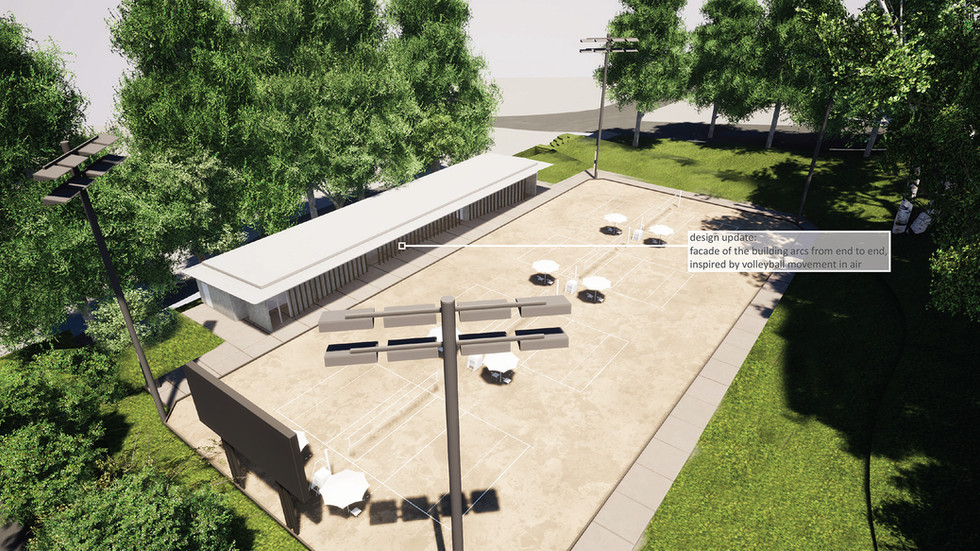 New Beach Volleyball Facility 2
