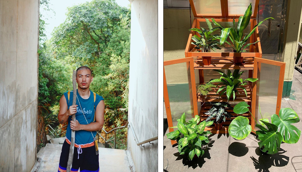 #KENYAIP: 排舞師STAYHOME與植物溝通?PIE網店的創始