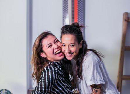 #LOVELOVELOVE: KAYLA WONG & ELAINE CHEN-FERNANDEZ