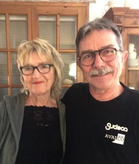 Gisela und Hans Jürgen - glücklich in Katalonien