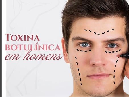 TOXINA BOTULÍNICA EM HOMENS - DRA. ADRIANA AFONSO CIRURGIÃ PLÁSTICA EM ALDEOTA
