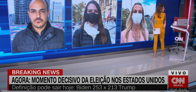 CNN América Decide no #ExpressoCNN com Monalisa Perrone