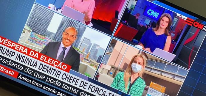 No giro de repórteres na CNN Brasil .