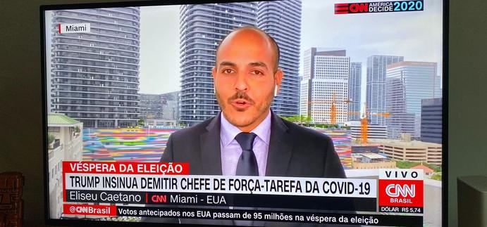 Ao vivo, direto de Miami, para a CNN Brasil.