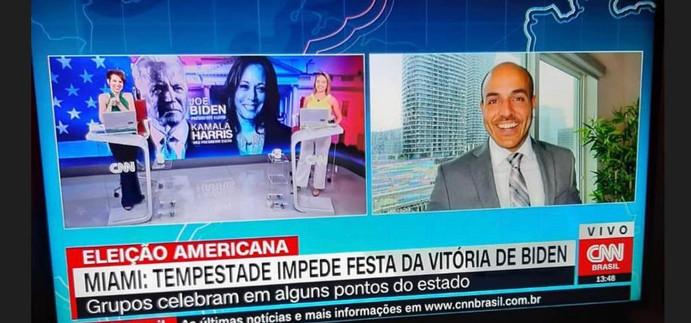 CNN 360 com Gloria Vanique e Daniela Lima.