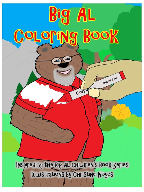 Big Al Coloring Book