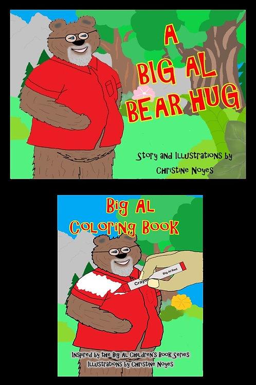 Big Al Two-Pack: Bear Hug/Coloring Book