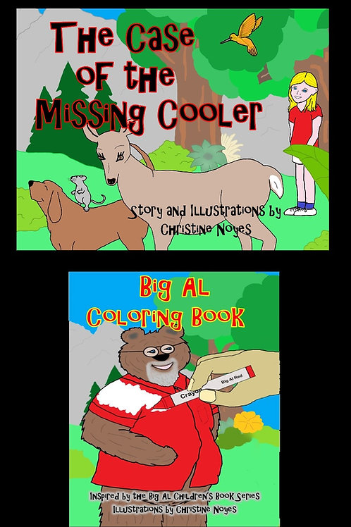 Big Al Two-Pack: Missing Cooler and Coloring Book