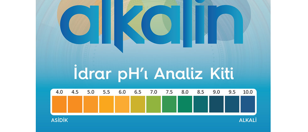 Vücut pH Analiz kiti
