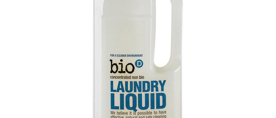 Bio-D Beyaz ve renkliler için konsantre sıvı çamaşır deterjanı (kokusuz) 1lt