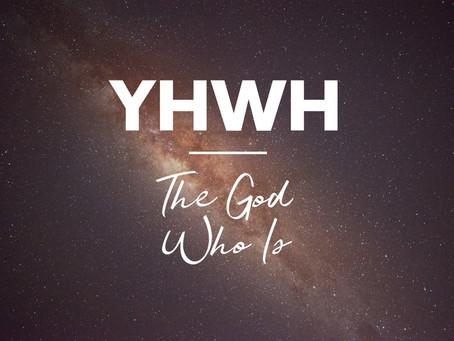 Yahweh.