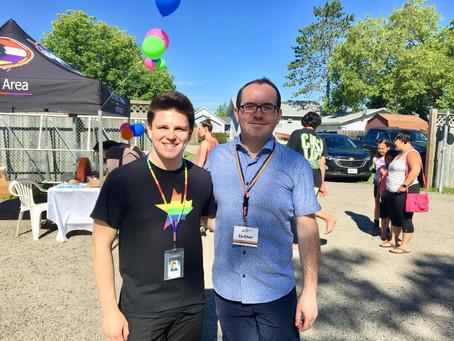 Fort Frances LGBTQ2 group prepares for cross-border pride march