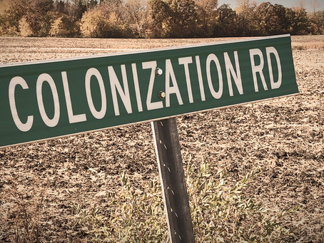 Remarks on Colonization Road