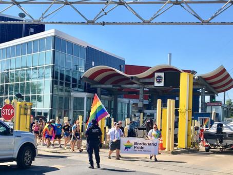 Fort Frances and International Falls host cross-border Pride march