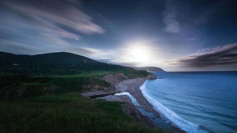 Cliff Waters Beach at dusk.jpg