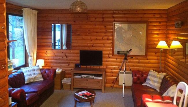 Balsfjord Log Cabin