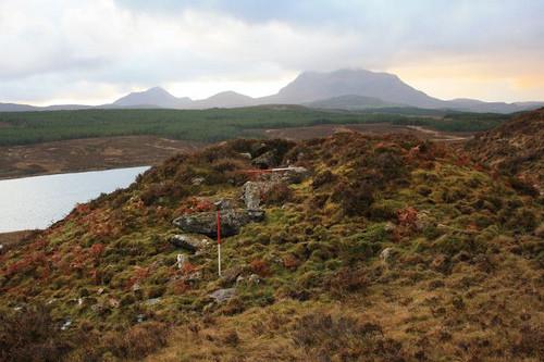 Loch Borralan Chambered Cairn