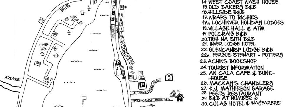 Lochinver Map