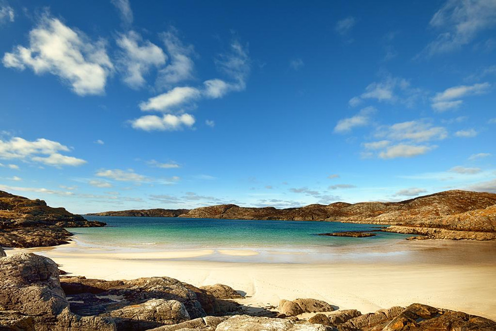 Achmelvich Beach by Chris Puddephatt