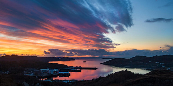 Assynt Sunset 2 by Lochinver Landscapes
