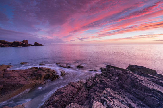 Clachtoll Bay by Gordie Brown
