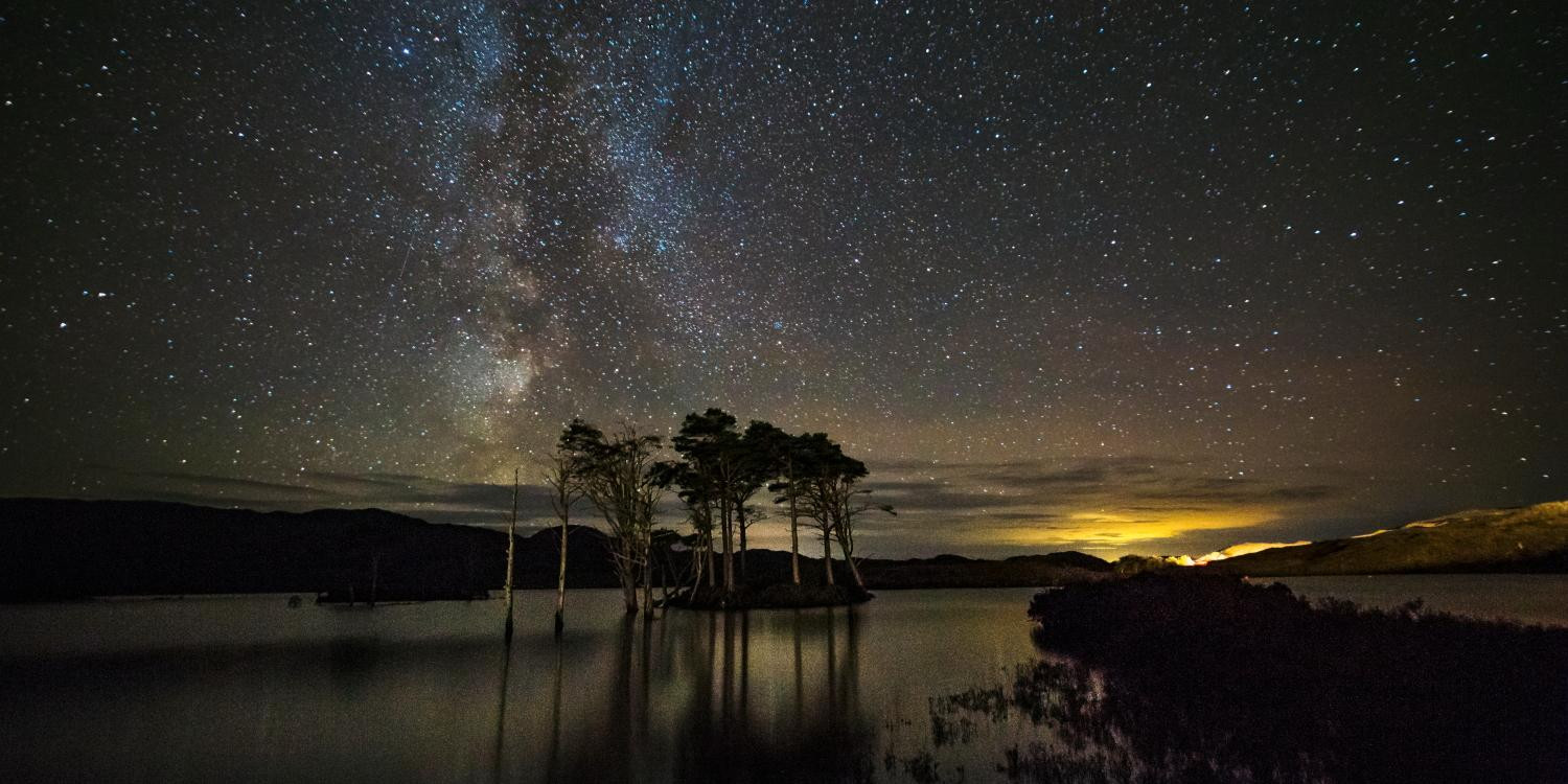 Assynt at Night by Lochinver Landscapes