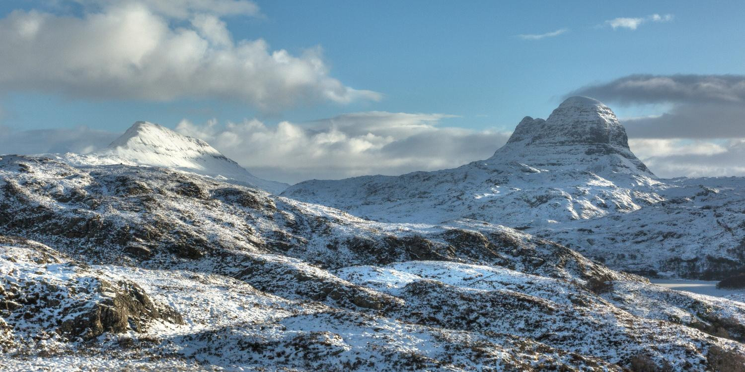 Snowy Assynt 2 by Lochinver Landscapes