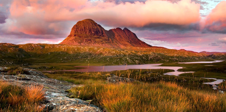 Suilven by Lochinver Landscapes