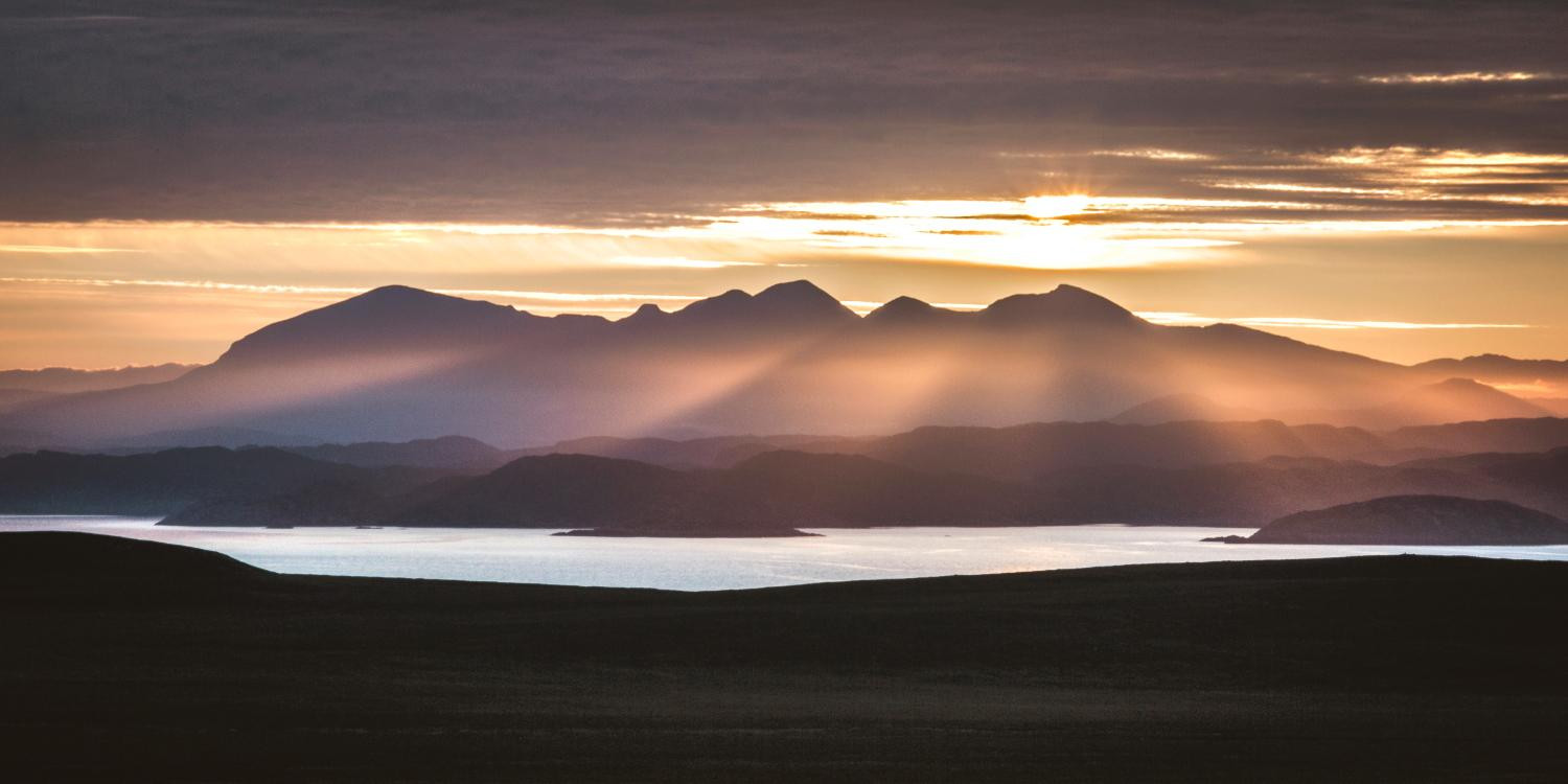 Assynt Sunset by Lochinver Landscapes