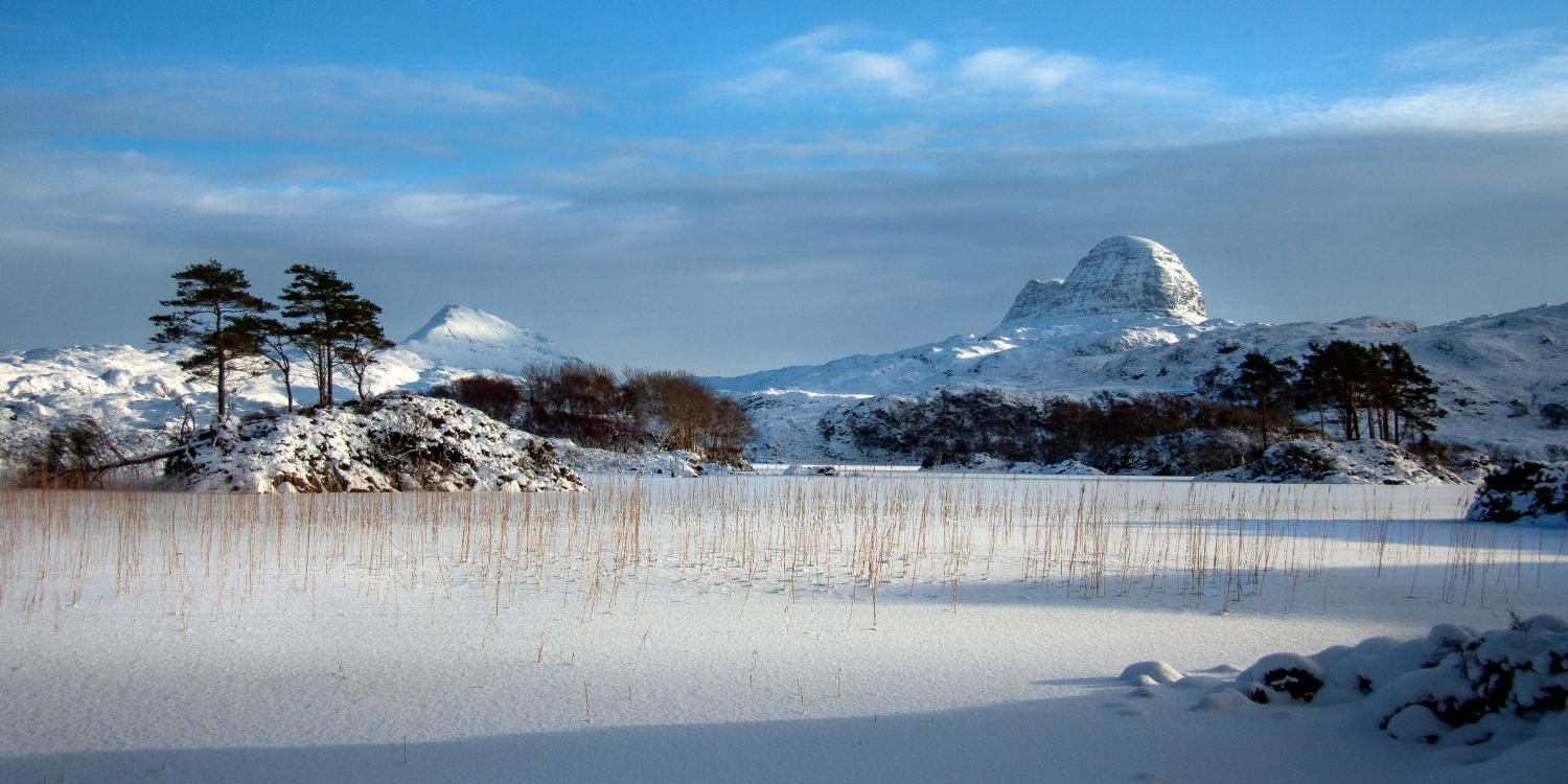 Snowy Assynt by Lochinver Landscapes