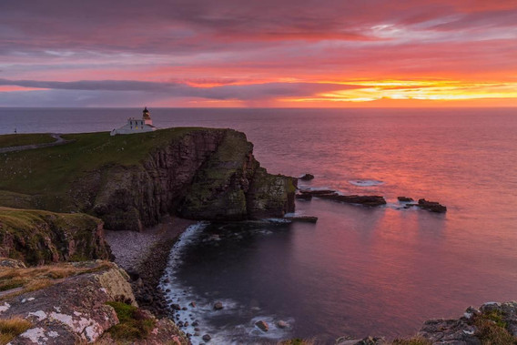 Stoer Lighthouse by Gordie Brown