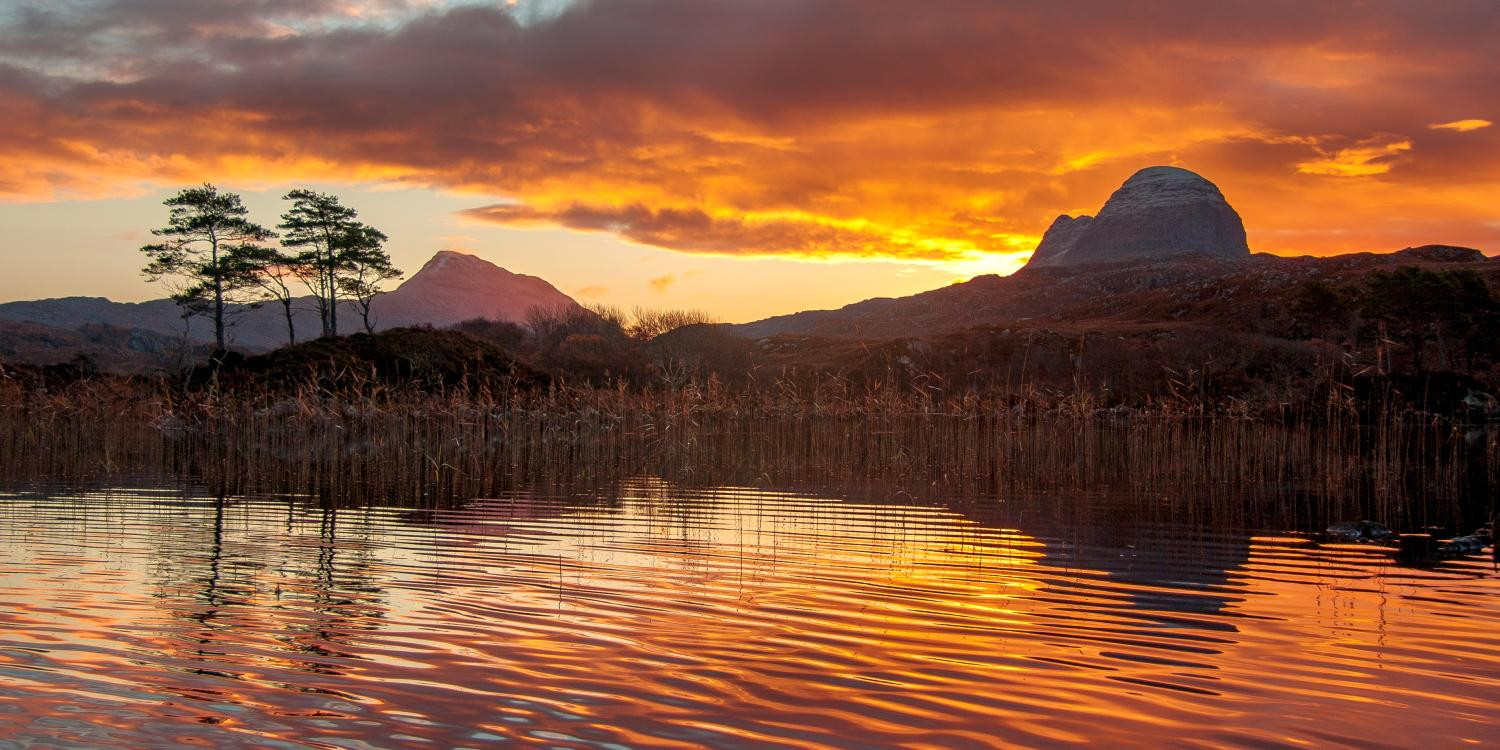 Suilven Loch by Lochinver Landscapes