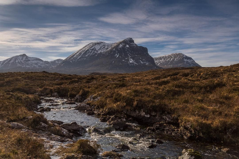 Quinag by Gordie Brown