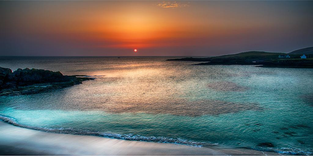 Achmelvich Sunset by Chris Puddephatt