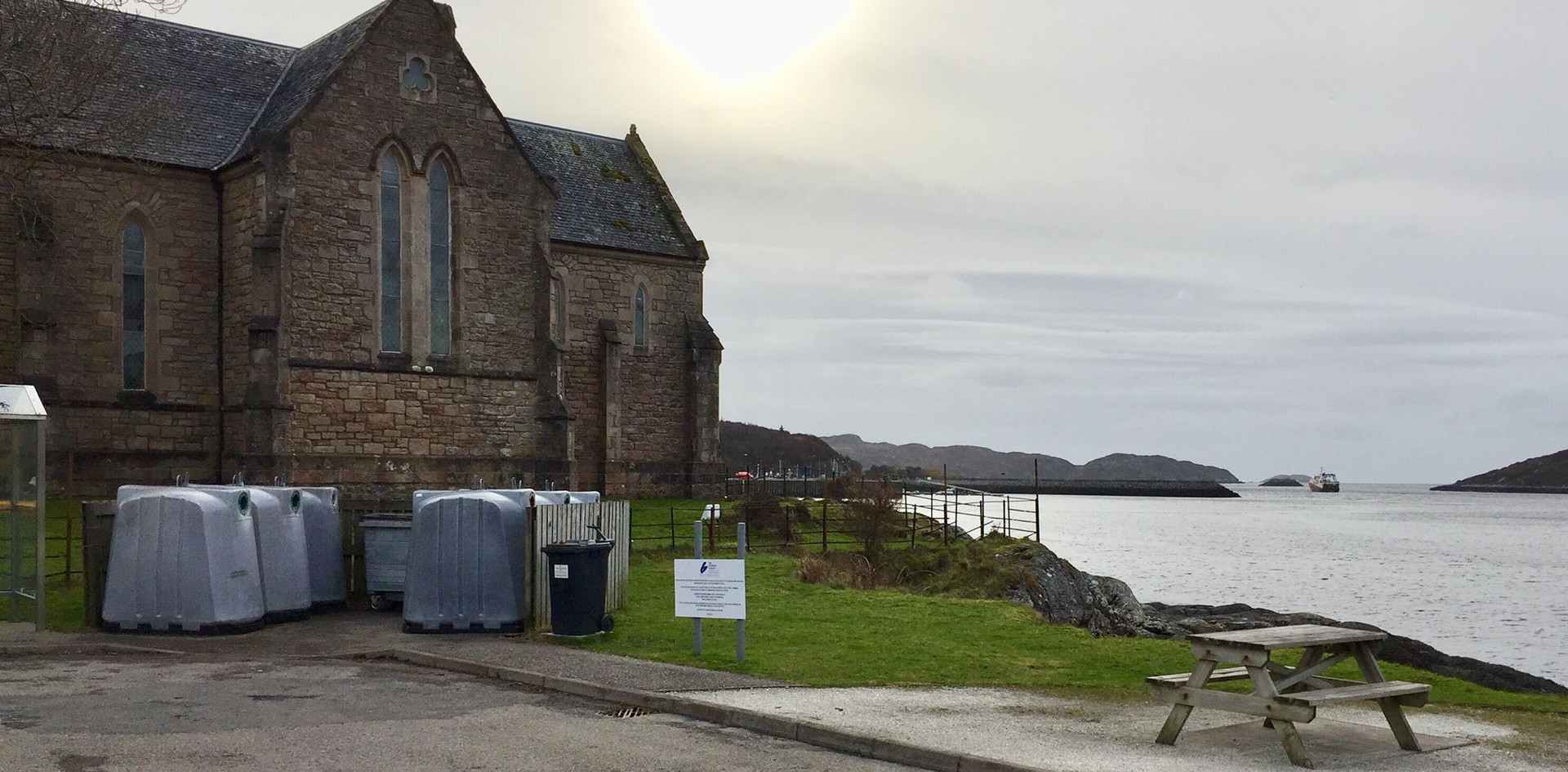 Lochinver Recycling Point