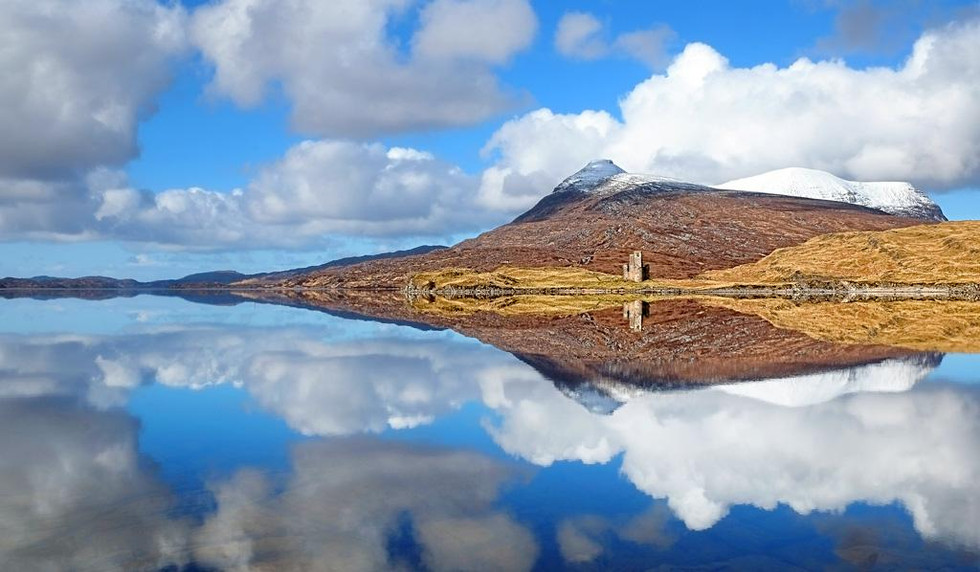 Ardvreck Castle by Chris Puddephatt