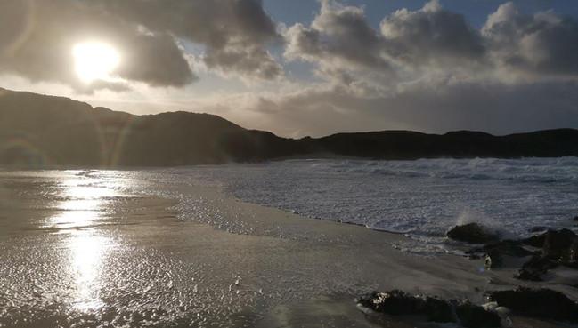 Clachtoll Beach Campsite