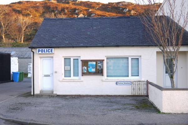 Lochinver Police Station